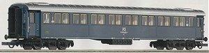 Roco 44703 - FS, Bauart 20000, 1. Klasse, grau, IE mit Vorhaengen