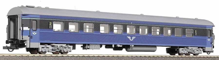 Roco 44726 - B7 Reisezugwagen, blau-grau, SJ