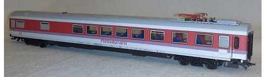 Roco 44757 - ARmz 211, Halbspeisewagen - 1. Kl., Aufschrift 'RESTAURANT', MIT Pantograph