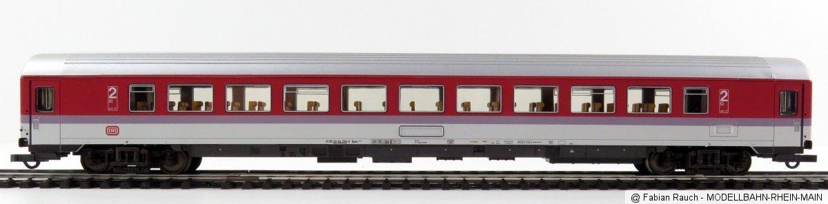 Roco 44785 - DB, Bpmz 291.2, 2. Kl. Grossraumwagen, NICHT Druckfest, silbernes Dach