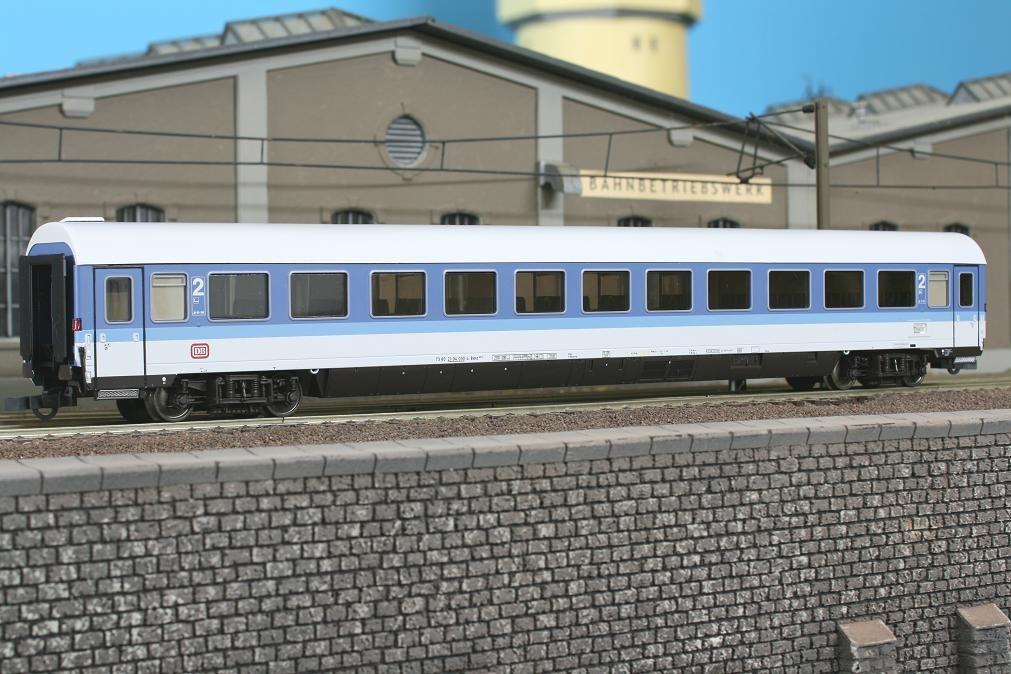 Roco 44791 - Bvmz 185.0, , IR Farbgebung, 2. Klasse, blau-lichtgrau, DB Keks.1