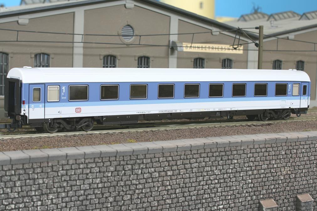 Roco 44792 - Avmz 107, 1. Klasse, blau-lichtgrau, DB-Keks