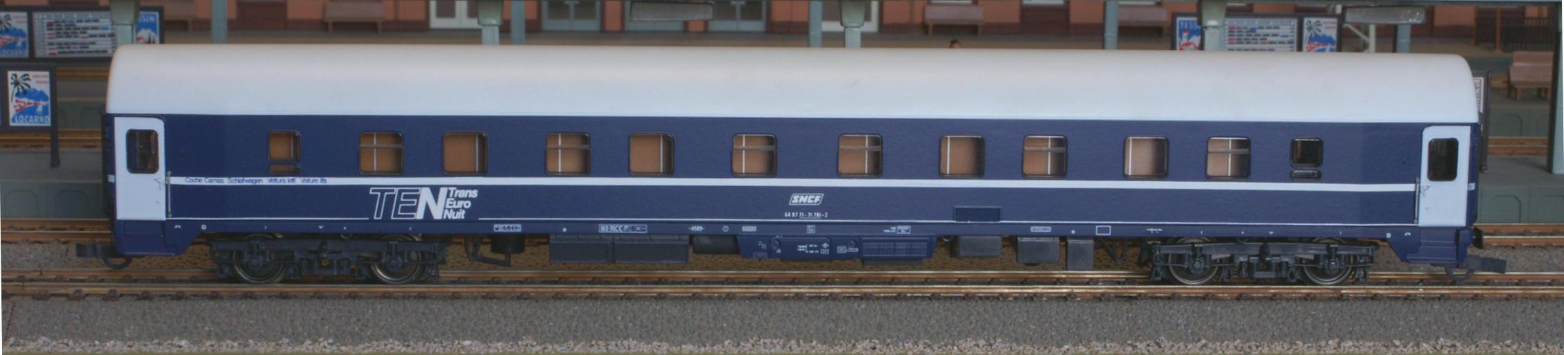 Roco 44840 - U-Hansa WLAB, SNCF TEN