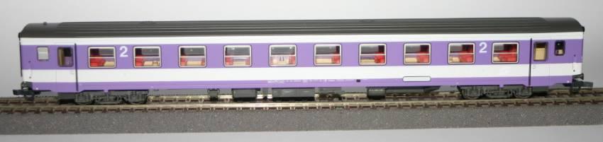 Roco 44850.3 - Bpmz, SOS A 1993, Farbstudie der OeBB, blauviolett-hellgrau