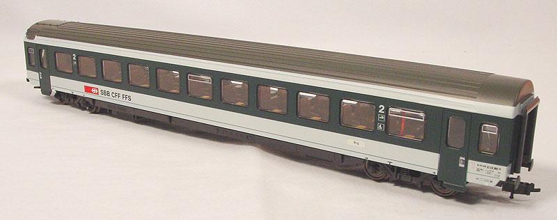 Roco 44884 - EW IV, 2. Klasse, gruen-grau, SBB.1