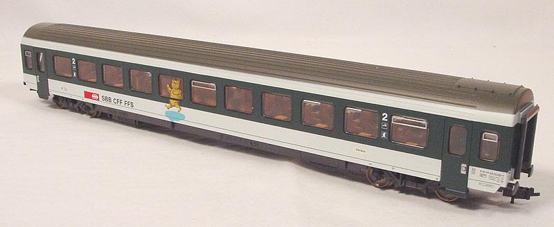 Roco 44888 - EW IV, mit Spielbereich, Teddybaer auf Seitenwand fast mittig, URSPRUNGSVERSION.2