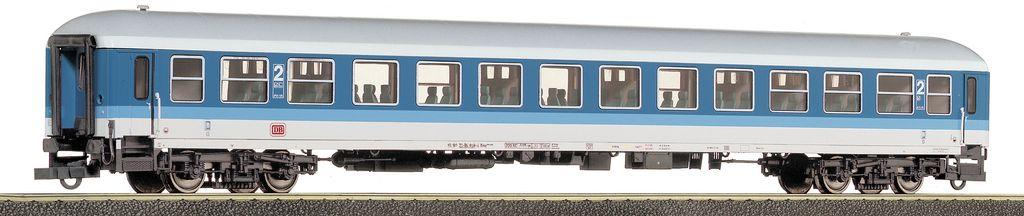 Roco 45136-37-39 - IR Farbgebung, 2. Klasse, blau-lichtgrau, DB AG-Keks