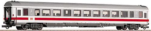 Roco 45228 - 292 Bpmz, IC Versuchsanstrich 2000 weiss-grau, 2. Klasse Grossraumwagen, roter Streifen unter Fenstern