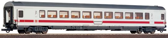 Roco 45229 - 292 Bpmz, IC Versuchsanstrich 2000 weiss, 2. Klasse Grossraumwagen, roter Streifen unter Fenstern