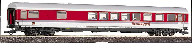 Roco 45255 - ARmz 217, IC Farbgebung, Halbspeisewagen 1. Klasse, DB AG, VIOLETTE Streifen, 'Restaurant', OHNE Pantograph
