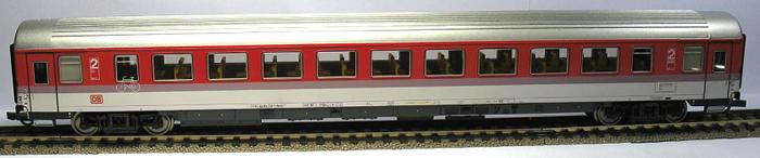 Roco 45258 - DB AG, Bpmdz 293.8, 2. Kl. Grossraumwagen, mit Fahrradabteil, DRUCKERTUECHTIGT, Dach silber