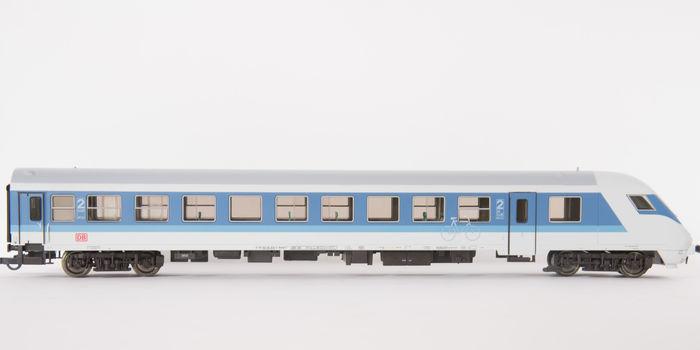 Roco 45261 - Bimdzf 269.0, IR Farbgebung, STEUERWAGEN, 2. Klasse mit Fahrrad-Abteil, blau-lichtgrau, DB AG-Keks, Rad-Symbol