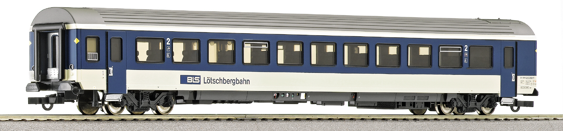 Roco 45321 - EW IV, Pendelzugversion, BLS, blau-beige, Ep.5