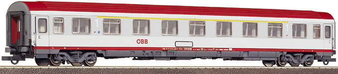 Roco 45352 - Ampz, 1.Kl. EUROFIMA, OeBB, weiss-graue Farbgebung 2002, rotes dach, Ep.5