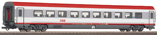 Roco 45500 - MODULWAGEN, 2. Klasse, neue Farbe 2003 weiss-hellgrau, Dach rot, neues OeBB-Logo.1