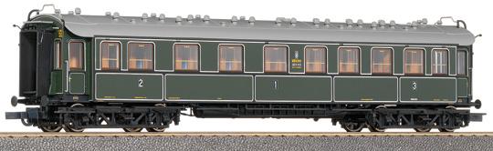 Roco 45581 - ABC4ueBay11, BAYERN, 4-achsiger D-Zugwagen, 1.-2.-3.Klasse.1