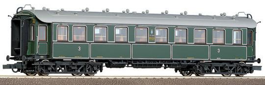 Roco 45582 - C4ue, BAYERN, 4-achsiger D-Zugwagen, 3.Klasse.1