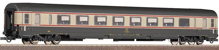 Roco 45426 - FS, Gran-Conforto 1. Kl. in grau-crème mit altem FS-Logo