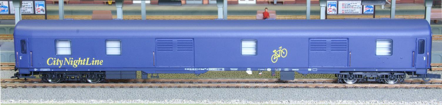 Heris 11051.2 - CityNightLine, Doppelstock-Schlafwagen, Gepäckwagen