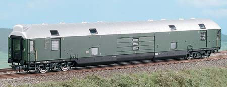 Heris 11200 - Doppelstockwagen DB, Epoche III, chromoxyd grün