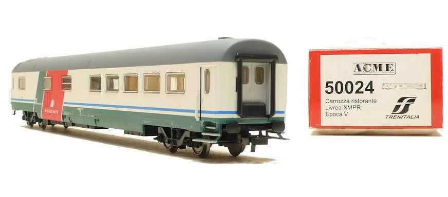 ACME 50024 - FS, Speisewagen, 'RISTORANTE', XMPR-Farben 'TRENITALIA'