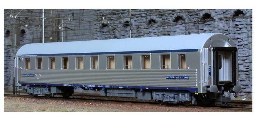 ACME 50100 - FS, Typ P Schlafwagen, INOX, Ep. 4