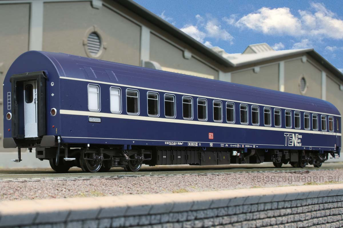 ACME 50915 -T2S, Schlafwagen der DB AG, TEN, DB AG-Keks, NEUE FENSTER, Ep.5.2