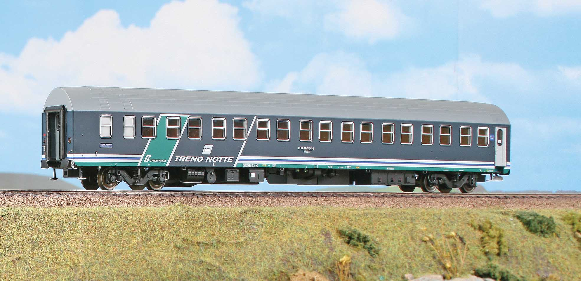 ACME 50952 - FS, Schlafwagen Typ T2S, 'Treno Notte' , Ep. VI.2