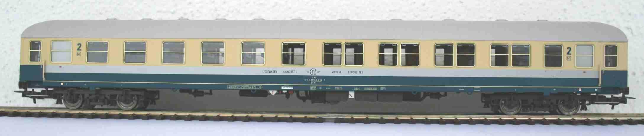 Alpha Trains 31031 - Bcm 242 Liegewagen der OSE (ex TOUROPA) ep.IV.1