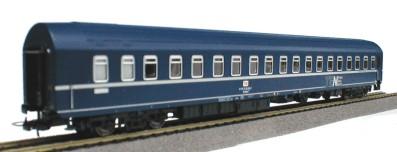 Heris 11015 - T2s Schlafwagen, blau, TEN TRANS EURO NACHT, DB AG-Keks