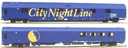 Heris 11052 - CityNightLine, Doppelstock-Schlafwagen, Loungewagen