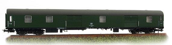 Heris 11061 - Duems 905, Gepaeckwagen, vier Rolltueren, gruen, Ep. IV