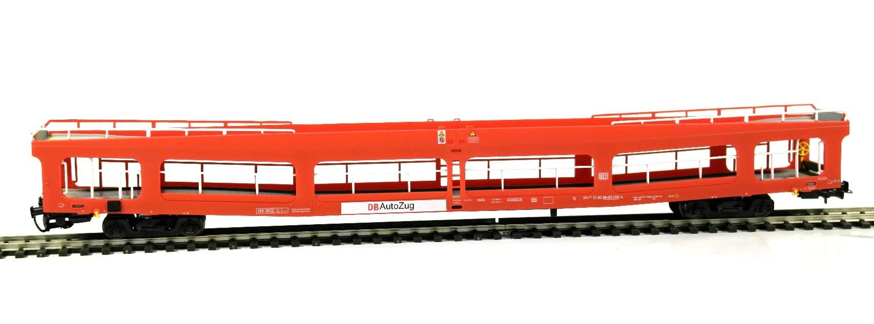 Heris 11079 - DDm 916, Autotransporter, ex DR, DB AutoZug, rot