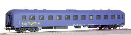Heris 11280 - Ruhesesselwagen Bpm, blau, mit Fahrradabteil, CityNightLine