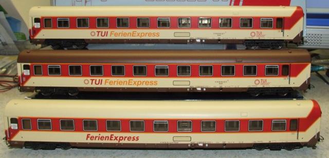Hobbytrain 42050 - Set 1 3-tlg TUI Express.1
