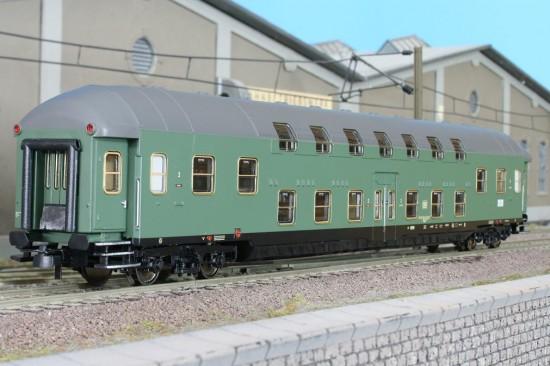 Hobbytrain H 42040 - Doppelstockwagen DB 3-tlg. Set Ep. IV, DBym 471