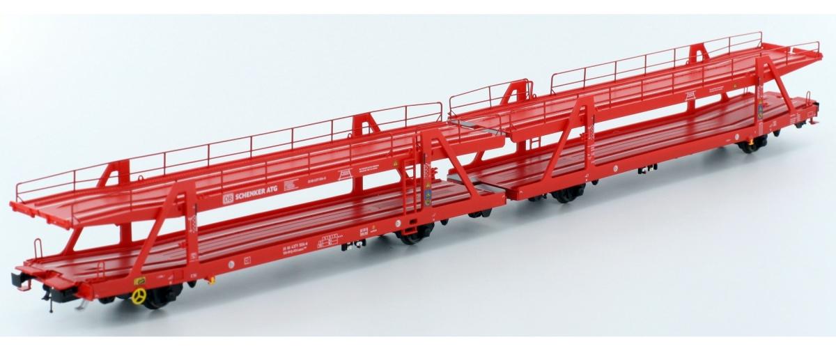 LS 46018-X - Autotransporter Laaers 560, AutoZug, DB SCHENKER ATG, rot