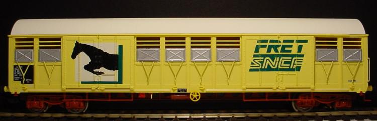 LSM 30082 - SNCF 4achs Pferdetransportwg Ep4