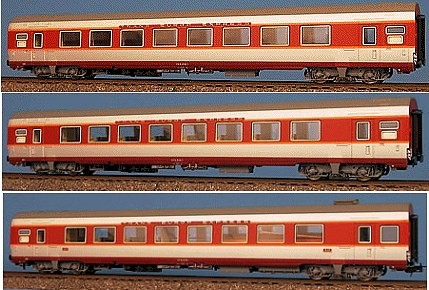LSM 40093 - Grand Confort, Set 3 Wagen A8tu, A8u, Bar A3rtu, SNCF, Trans Europe Express