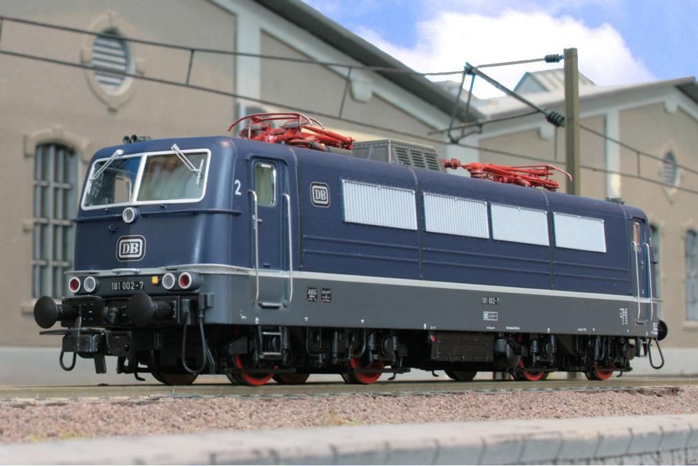 LSM 96003 Set 'Goethe' - BR181, blau, Ep.4, DB. Auf 199 Stck limitierte Auflage.01