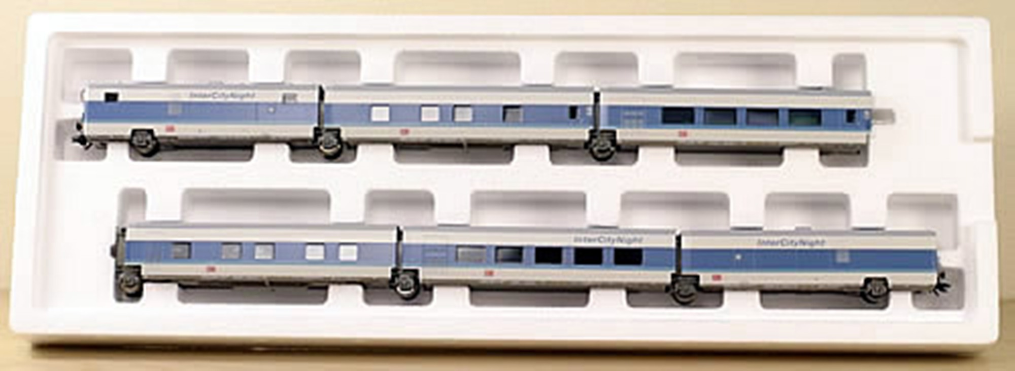 Maerklin 41771 - InterCityNight, Grundset 6 Wagen