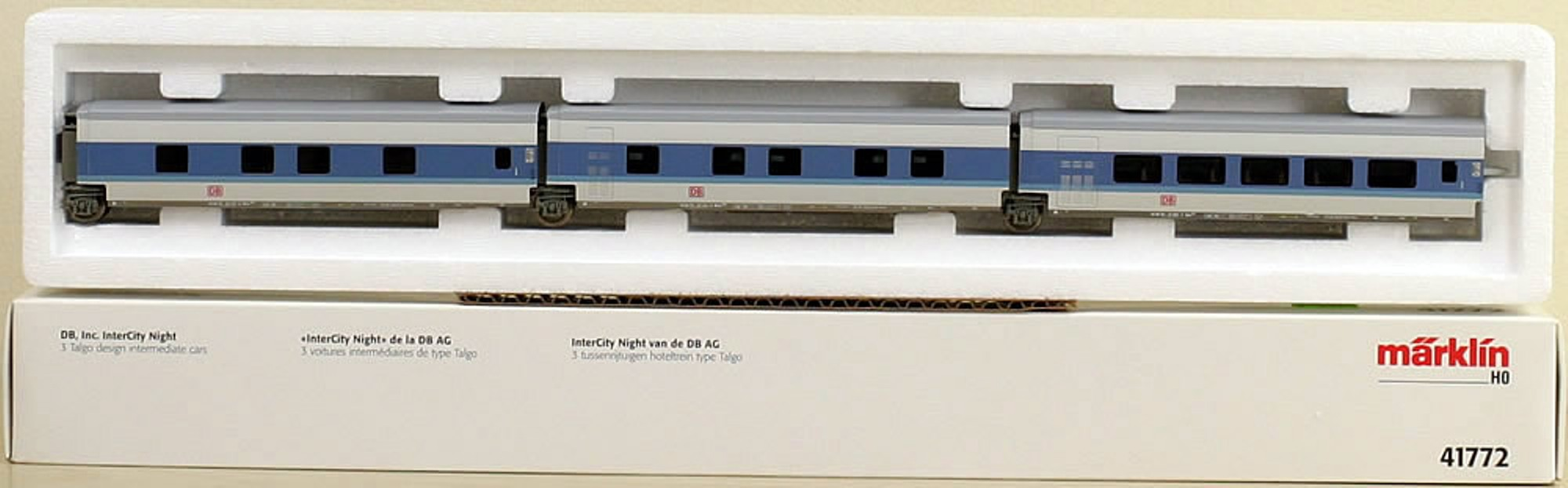 Maerklin 41772 - InterCityNight, Ergaenzung 3 Wagen
