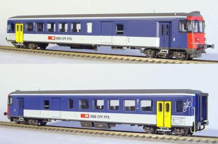 RailTop 11401 - SBB Steuerwagen BDt , nach Umbau 1994, Ep. V.2