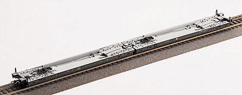 Roco 47540 - 704 Saads, festgekuppelte Niederflur-Wippenwageneinheit, schwarz, unbeladen