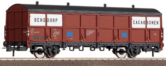 Roco 47608 - Hbis, Schiebewandwagen, braun, 'Bensdorp Cacaobohnen', NS