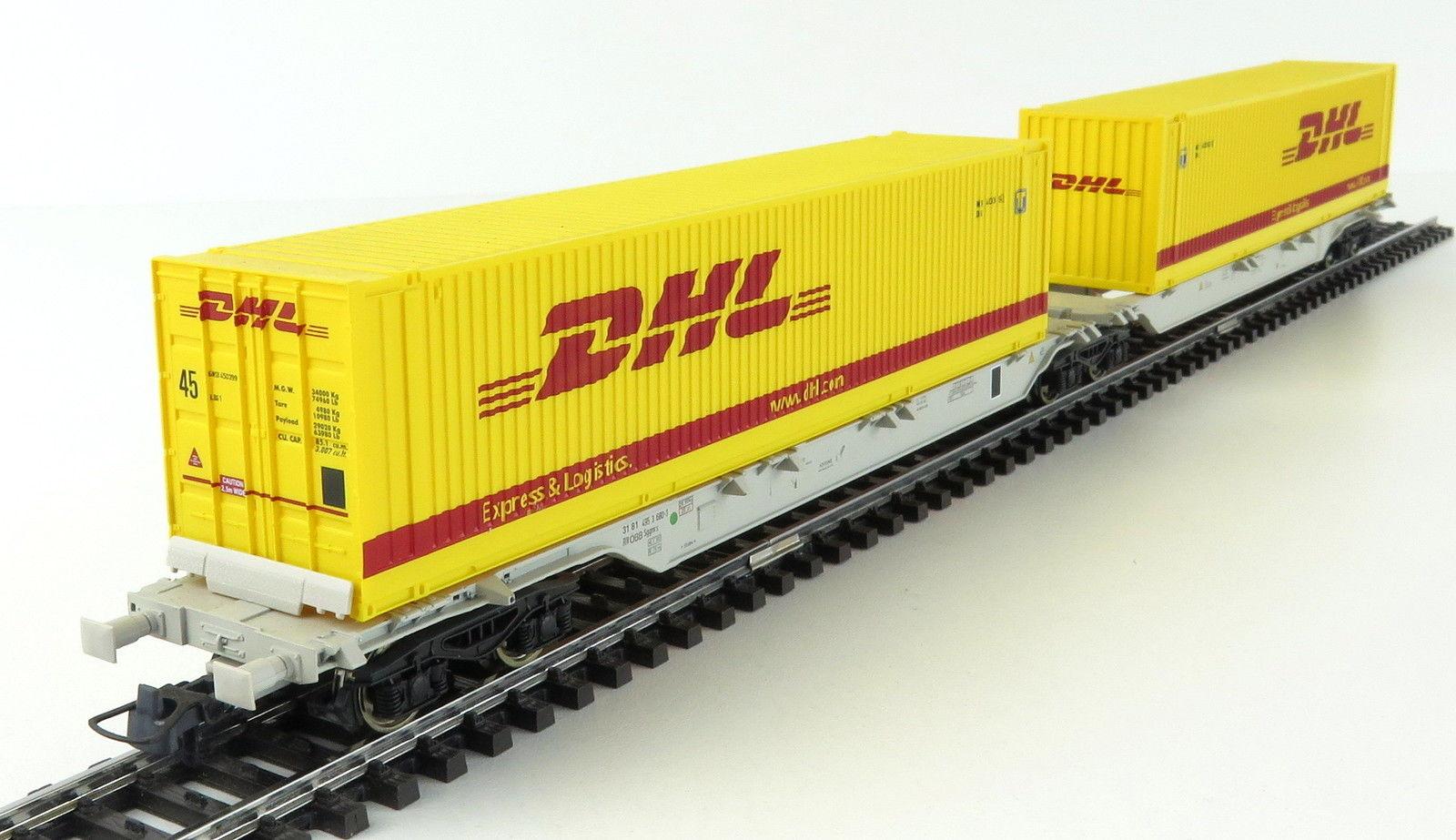 Roco 66983 - Doppeltragwageneinheit DHL.1