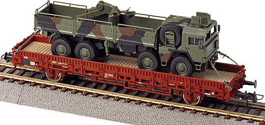 Roco 885 - Kbs442, mit gepanzertem MAN 464.1