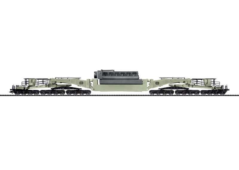 Trix 24019 - Tragschnabelwagen Uaai 838, mit MAN Dieselmotor, Ep.4
