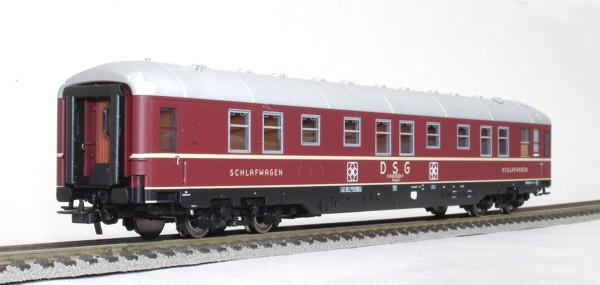 RailTop 33503 - WLASüge, 'ZickZack'-Schlafwagen, DSG, Ep.IV.2