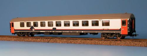 Heris 12018 - Belgischer I10 Reisezugwagen, Memlingausführung, 2. Klasse klimatisiert